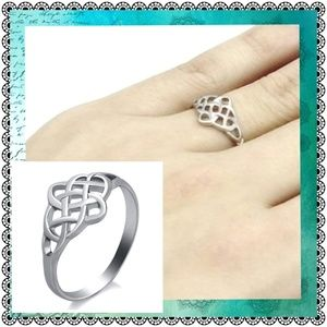 Jewelry - Stainless steel Celtic knot ring